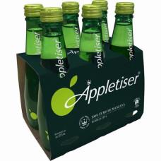 Appletiser - Apfelschorle Apfelsaft mit Kohlensäure 275ml Flasche im 6er-Pack