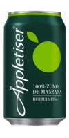 Appletiser - Apfelschorle Apfelsaft mit Kohlensäure 4x 330ml Dosen hergestellt auf Teneriffa - LAGERWARE
