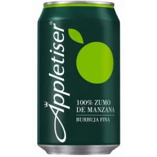 Appletiser - Apfelschorle Apfelsaft mit Kohlensäure 8x 330ml Dosen hergestellt auf Teneriffa - LAGERWARE