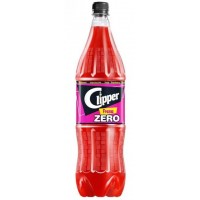 Clipper - Fresa Zero Erdbeer-Limonade zuckerfrei 2l PET-Flasche hergestellt auf Gran Canaria