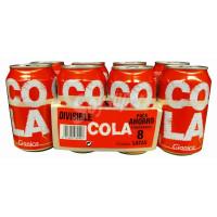Gianica - Cola Dose 330ml 8er Pack hergestellt auf Gran Canaria