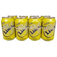 Gianica - Limon Zitronen-Limonade 6% Dose 330ml 8er-Pack hergestellt auf Gran Canaria