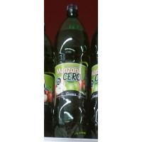 Gianica - Manzana Cero Apfelgetränk mit Kohlensäure zuckerfrei 8% Saftanteil 2l PET-Flasche hergestellt auf Gran Canaria