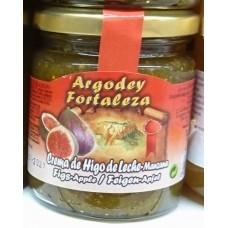 Argodey Fortaleza - Confitura Crema de Higo de Leche-Manzana Feige-Apfel 200g hergestellt auf Teneriffa - LAGERWARE