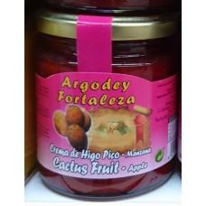 Argodey Fortaleza - Mermelada de Higo Pico-Manzana Kaktus-Apfel 240g hergestellt auf Teneriffa - LAGERWARE
