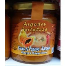Argodey Fortaleza - Mermelada de Papaya-Naranja Papaja-Orangen-Creme 200g hergestellt auf Teneriffa - LAGERWARE