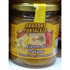 Argodey Fortaleza - Mermelada de Platano Bananen-Marmelade 200g hergestellt auf Teneriffa - LAGERWARE