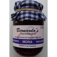 Bernardo's Mermeladas - Mora Maulbeerkonfitüre extra 240g hergestellt auf Lanzarote