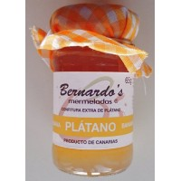 Bernardo's Mermeladas - Banana Confitura extra de Platano Bananenkonfitüre 65g hergestellt auf Lanzarote