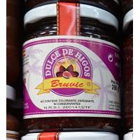 Bruvic - Dulce de Higos süßes Kaktus-Feigengelee Glas 260g hergestellt auf La Palma - LAGERWARE MHD: 10.01.2020