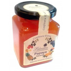 Palmelita - Papaya Naranja Confitura Extra Marmelade Papaya Orange 314g hergestellt auf Teneriffa
