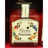 Palmelita - Pimiento Confitura Extra Marmelade Paprika 335g hergestellt auf Teneriffa - LAGERWARE MHD: 24.12.2019