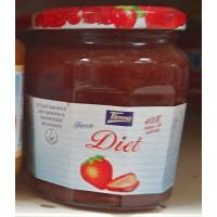 Tirma - Confitura de Fresa Diet Erdbeer-Marmelade Diät 240g hergestellt auf Gran Canaria