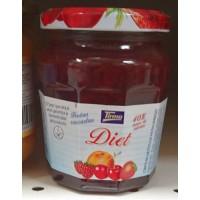 Tirma - Confitura Frutas Variadas Diet Mehrfrucht-Marmelade Diät 265g hergestellt auf Gran Canaria