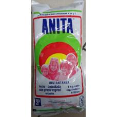 Anita - Leche desnatada con grasa vegetal en polvo Milchpulver für 8 Liter Milch 1kg hergestellt auf Gran Canaria