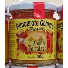 Argodey Fortaleza - Almogrote Gomero Picante - Kanarische Hartkäsepaste würzig 200g hergestellt auf Teneriffa - LAGERWARE