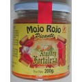 Argodey Fortaleza - Mojo Rojo Picante 200g hergestellt auf Teneriffa..