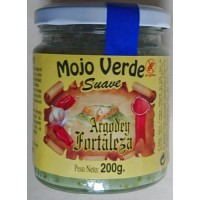 Argodey Fortaleza - Mojo Verde Suave grüne milde Mojo-Sauce 200g hergestellt auf Teneriffa