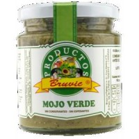 Bruvic - Mojo Palmero Verde 240g hergestellt auf La Palma