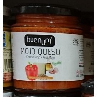 Buenum - Mojo Queso Käsetunke Salsa Canaria 200g hergestellt auf Teneriffa