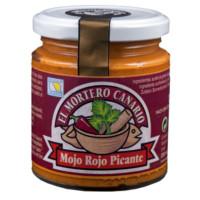 El Mortero Canario - Mojo Rojo Picante 230ml hergestellt auf Teneriffa