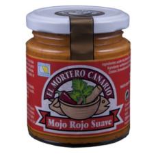El Mortero Canario - Mojo Rojo Suave 230ml hergestellt auf Teneriffa