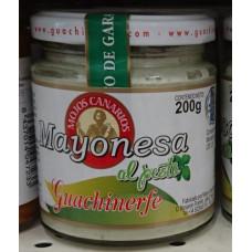 Guachinerfe - Mojos Canarios Mayonesa al pesto 200g hergestellt auf Teneriffa - LAGERWARE