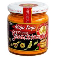 Guachinerfe - Mojo Rojo Picante rote scharfe Mojosauce 235ml hergestellt auf Teneriffa