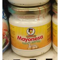 Mosa - Mayonesa suave y sabrosa Glas 200g hergestellt auf Gran Canaria
