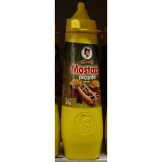 Mosa - Mostaza picante Senf scharf 275ml Flasche hergestellt auf Gran Canaria