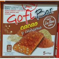 GofiBar - Cacao y canamo Müsliriegel mit Gofio 5x35g hergestellt auf Gran Canaria