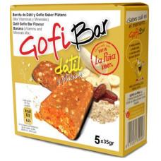 GofiBar - Datil y Platano Müsliriegel mit Gofio 5x35g hergestellt auf Gran Canaria