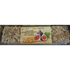 Oro del Atlantico - Higo con Almendra Besito Mini-Müsliriegel mit Feigen und Mandeln 40g hergestellt auf Teneriffa