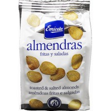 Emicela - Almendras Fritas Salada Mandeln 150g Tüte hergestellt auf Gran Canaria