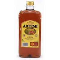 Artemi - Ronmiel Canario Ron Miel Honigrum 1l 20% Vol. flache Flasche PET hergestellt auf Gran Canaria
