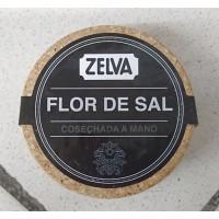 Zelva - Flor del Sal Salz 150g Glas von Gran Canaria