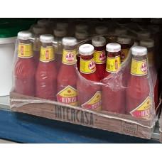 Intercasa - Ketchup Glasflasche 24x 320g Flasche Stiege hergestellt auf Gran Canaria