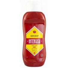 Intercasa - Ketchup Kopfstandflasche Plastik 450g hergestellt auf Gran Canaria
