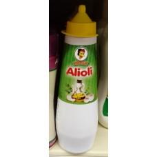 Mosa - Alioli Plasteflasche 275g hergestellt auf Gran Canaria