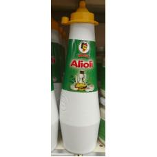 Mosa - Alioli Plasteflasche 500g hergestellt auf Gran Canaria