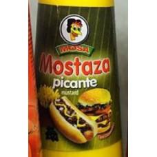 Mosa - Mostaza picante 200ml Glas hergestellt auf Gran Canaria