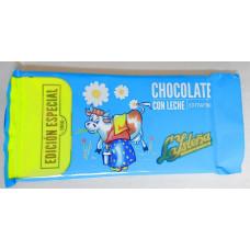La Isleña - Chocolate con leche extrafino Edition Especial Vollmilchschokolade 100g hergestellt auf Gran Canaria