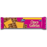 Tirma - Choco Galletas chocolate con leche - Kekse mit Milchschokolade 160g hergestellt auf Gran Canaria