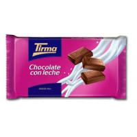 Tirma - Chocolate con Leche Milchschokolade 150g Tafel hergestellt auf Gran Canaria