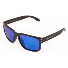 Canarians - Gafa Fuerteventura Negro Brillo azul Sonnenbrille blau