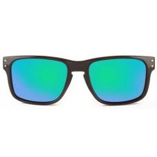 Canarians - Gafa Fuerteventura Negro Brillo verde Sonnenbrille grün