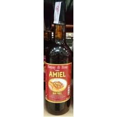 Amiel - Ron Miel Honey & Miel Ronmiel Honigrum 1l 20% Vol. hergestellt auf Gran Canaria - LAGERWARE