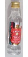 Artemi - Aniuska Dry Vodka Wodka 38% Vol. 40ml PET-Miniaturflasche hergestellt auf Gran Canaria - LAGERWARE