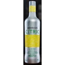 Arehucas - Citric Limon Zitronenlikör 30% Vol. 700ml hergestellt auf Gran Canaria