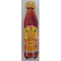 Arehucas - Ronmiel Doramas - Ron Miel - Honigrum 20% Vol. 50ml PET-Miniaturflasche hergestellt auf Gran Canaria